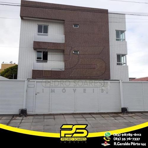 Apartamento Com 3 Dormitórios À Venda, 71 M² Por R$ 205.000,00 - Bancários - João Pessoa/pb - Ap2681