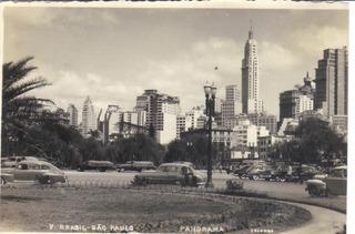 Antiga Foto Postal Panorama /são Paulo