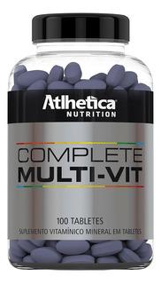 Complete Multi-vit 100 Tabs - Multivitamínico - Atlhetica Ev