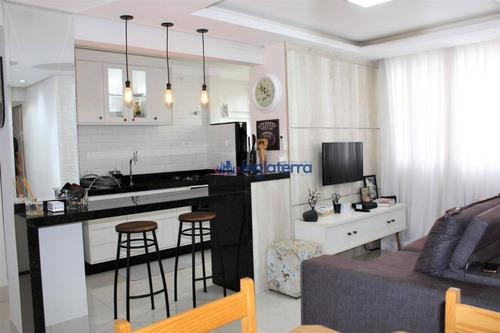 Apartamento Com 3 Dormitórios À Venda, 64 M² Por R$ 240.000 - Vitória Régia - Londrina/pr - Ap0927