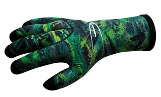 Guantes De Buceo 3mm Green Fusion Talla 4(large) - Epsealon