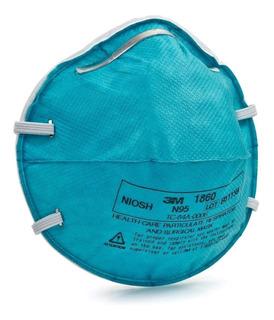 3m® Respirador Desechable Médico Partículas N95,1860 (22 Pz)