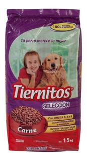 Alimento Para Mascotas Tiernitos Carne X 15kg