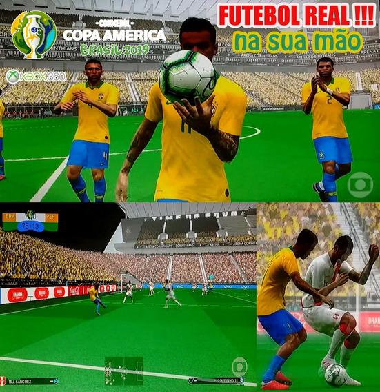 Patch Pes 2018 Xbox 360 Copa América 2019 Sensacional !