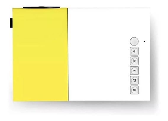 Mini Projetor Full Hd Led Usb Sd Hdmi Rca Av 600 Lumens
