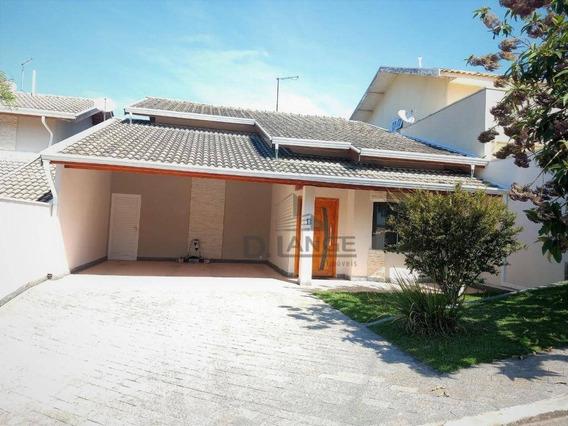 Casa Residencial À Venda Em Condominio, Jardim Jurema, Valinhos. - Ca9261