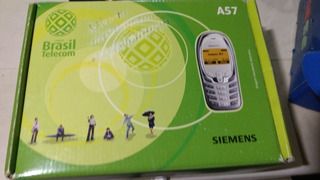 Celular Antigo Siemens A57 (defeito) 9/12
