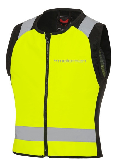 Chaleco Moto Reflectivo Motorman Vision Hv
