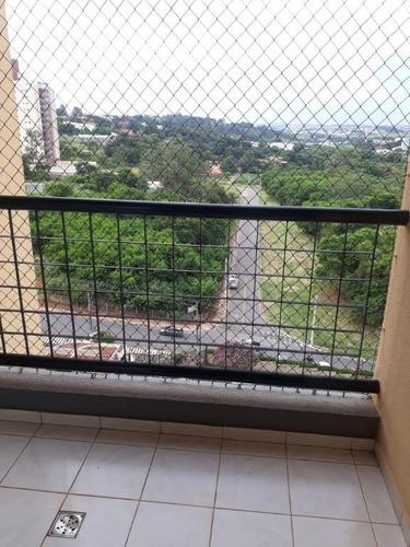 Apartamento Com 2 Dormitórios Para Alugar, 72 M² Por R$ 1.600,00/mês - Mansões Santo Antônio - Campinas/sp - Ap0472