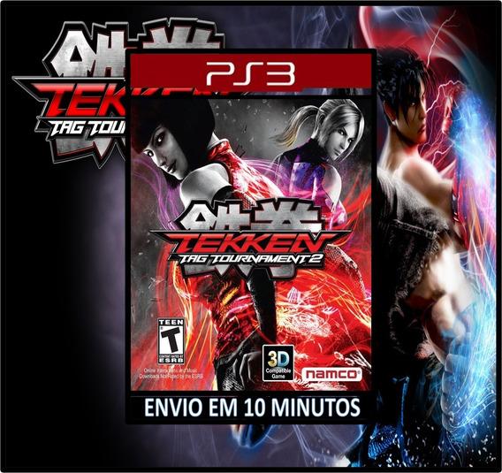 Tekken Tag Tournament 2 Ps3 Psn Mídia Digital Envio Rapido