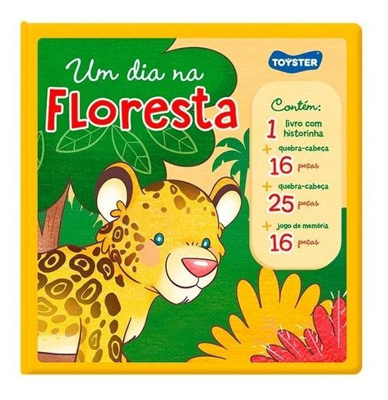 Livro Brinquedo - Um Dia Na Floresta 2536 - Toyster