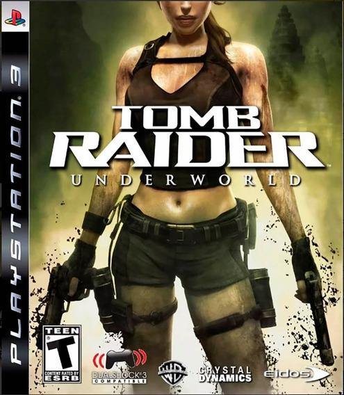 Tomb Raider Underworld Ps3 Mídia Física