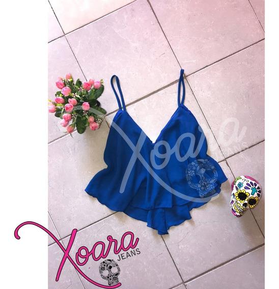 Top Solero Gasa Doble Mujer - Xoara Jeans