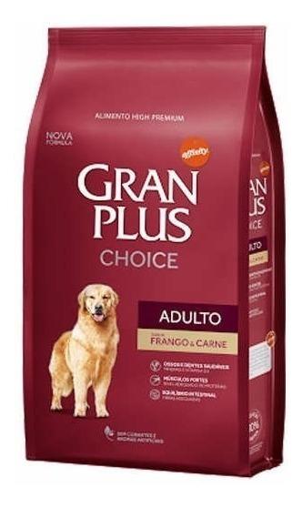 Ração Gran Plus Choice Frango E Carne Cães 15kg
