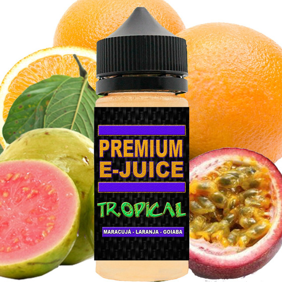 Kit 5 Unidades De Juice 30ml 0mg Eliquid Essência Para Vape