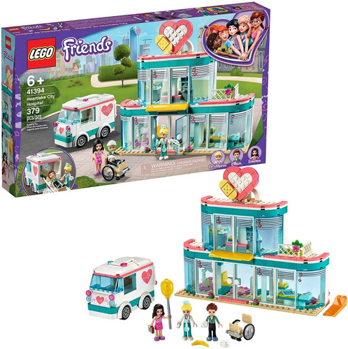 Lego Friends 41394 Hospital Ciudad Heartlake 379 Pzs