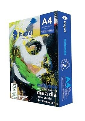 Folha Sulfite A4 Caixa Com 2500 Folhas (5 Resmas) Itapel
