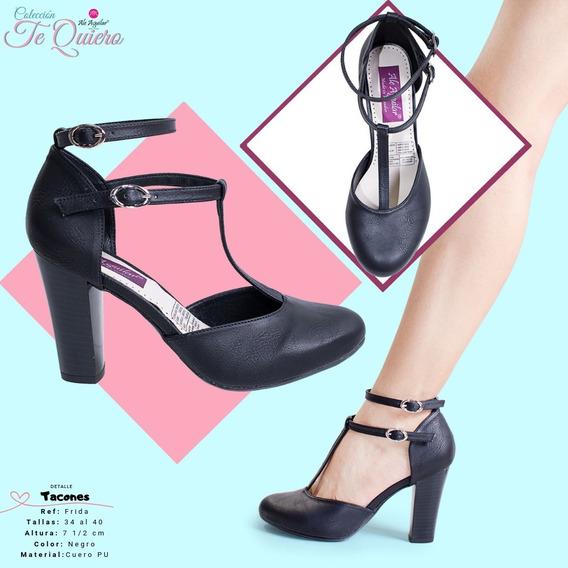 Zapatos Para Mujer Tacones Tallas Desde 34 Hasta 40