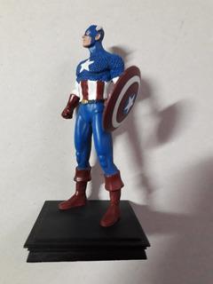 Figura Marvel Colección 3d - Capitán América