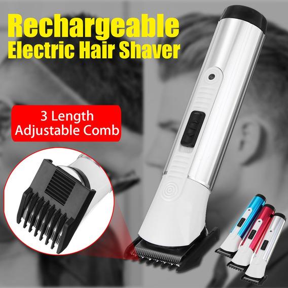 Recarregável Cortador De Cabelo Elétrico Aparador Barbear Ba