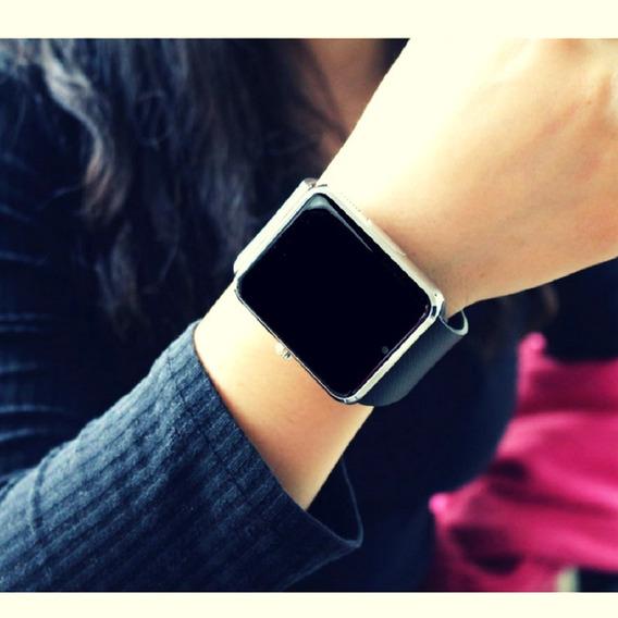 Relógio Digital Smartwhatch Sport Masculino Dourado Android
