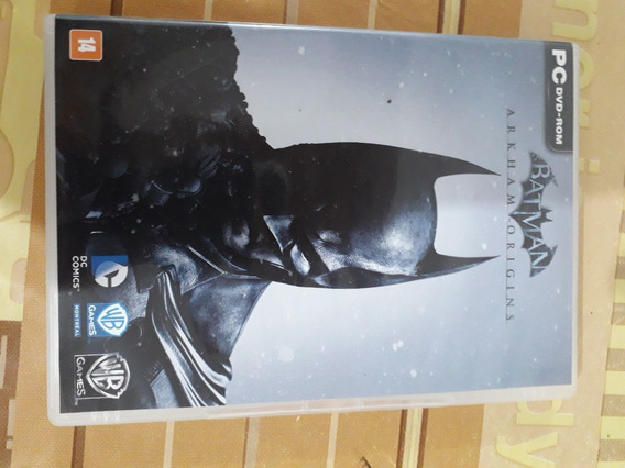 Batman: Arkham Origins Pc Dvd - Mídia Física