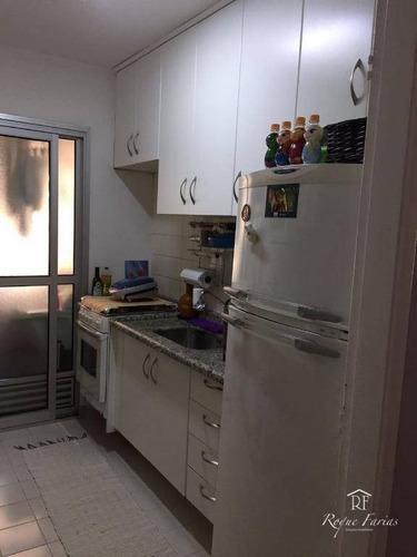 Imagem 1 de 11 de Apartamento Com 3 Dormitórios À Venda, 60 M² Por R$ 330.000 - Jaguaré - São Paulo/sp - Ap4204