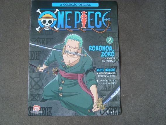 A Coleção Oficial- One Piece- Encarte 2- Roronoa -com Poster