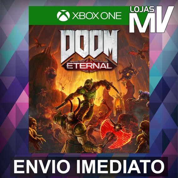 Doom Eternal Pré-venda Xbox One Código 25 Dígitos