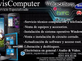 Servicio Técnico De Pc, Laptop Y Celulares A Domicilio