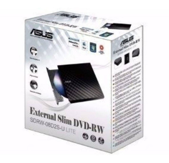 Drive Externo Slim Usb 2.0 Gravador Leitor Cd Leitor Dvd D2