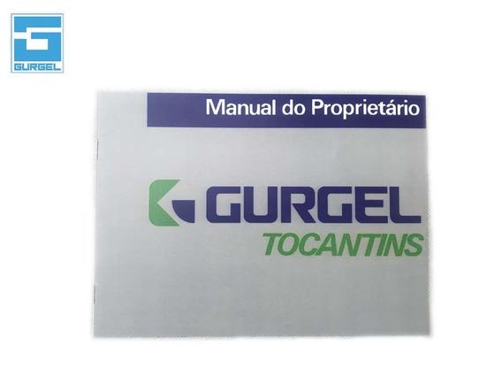 Manual Do Proprietario Gurgel Tocantins + Brinde