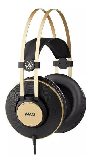 Fone Profissional Akg K92 Over Ear Fechado Estudio Gravação