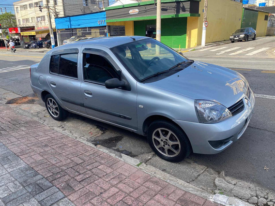Renault Clio Sedan 1.0 16v Expression Flex 4p 2006 Completo