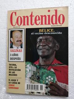 Revista Contenido Salinas 3 Años Después.
