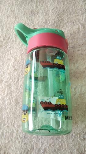 Termo Cooler Vaso Recipiente 450 Ml Plástico Niños
