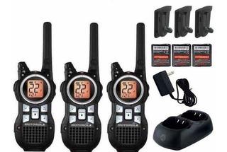 Kit 3 Raadios Comunicadores Talkabout Mr350