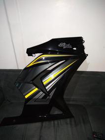 Carenagem Ninja 250r Preta 2012
