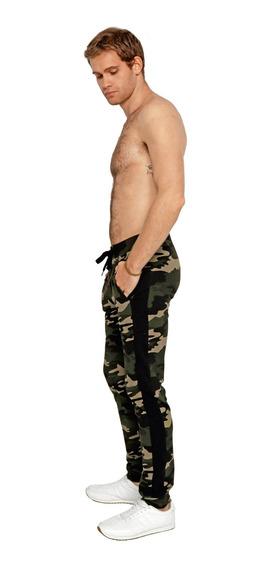 Jogger Pantalón Hombre Camuflaje Militar Cool Estampado