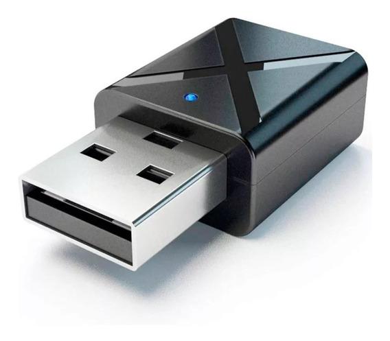 Transmisor Receptor Bluetooth 5.0 2 En 1 Usb 5,0