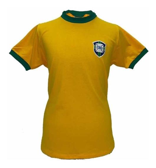 Camiseta Seleção Brasileira 1970 Retro Original Athleta + Au
