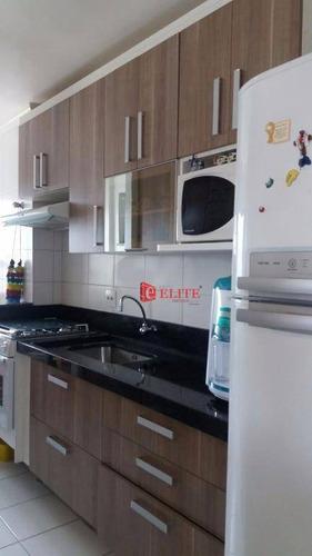 Apartamento Com 3 Dormitórios À Venda, 71 M² Por R$ 350.000,00 - Monte Castelo - São José Dos Campos/sp - Ap2459