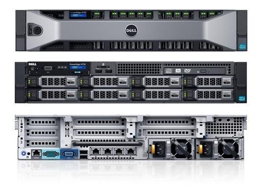 Servidor Dell Power Edge R730 - 2x Octa Core - 128gb Ram