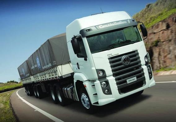 Volks 26.390 - 6x4 - 2014 - Motor Feito Inteiro - Garantia