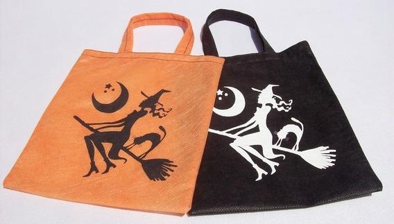 Bolsas Carameleras Halloween Cotillón (10 Unidades)
