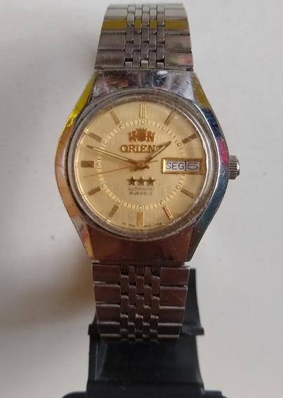 Relógio Masculino Orient 3 Estrelasos599e008