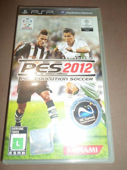 Pes 2012 Pro Evolution Soccer Novo Lacrado Para Psp