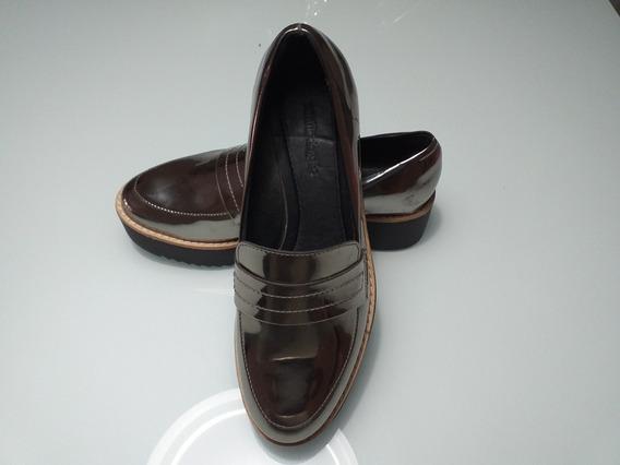 Sapato Oxford Mocassin Sapatenis Feminino