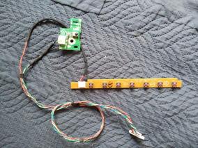 Botões E Sensor - Tv Aoc D26w931