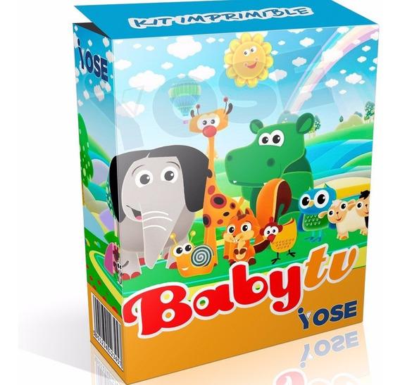 Kit Imprimible Baby Tv + Candy Bar + ¡envío Instantáneo!